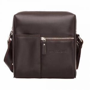 5959132fac74 Мужская сумка мессенджер через плечо Lakestone Sandy Brown из коричневой  кожи ...