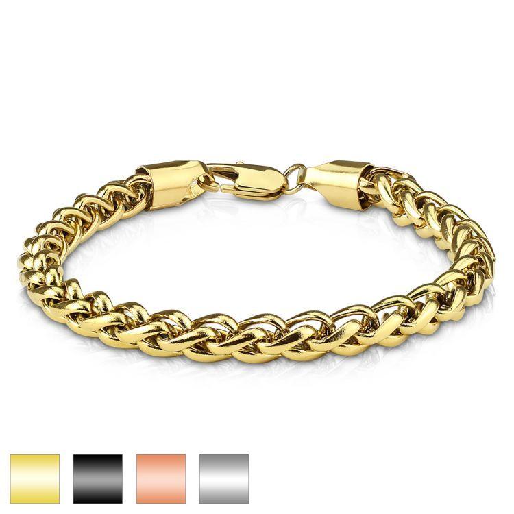 мужские браслеты из золота на руку фото направление пляжный
