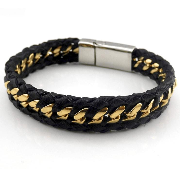 мужские браслеты из желтого золота